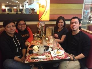 Vinci, Me, Mel and Euge